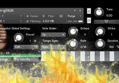 Percusiones Gratis: Lighter Glitch