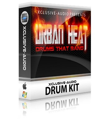 Baterias Hip Hop Urban Heat