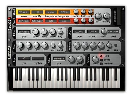 Sintetizador gratis: disfruta con el VST FireBird2